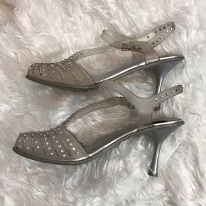a491d229f727 Stuart Weitzman Shoes - Stuart Weitzman Melissa jelly clear heels 8